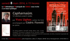 Yves Ughes, Cédric Fioretti, Capharnaüm, L'Amourier,